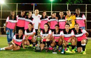 Guerreras FC, pentacampeón