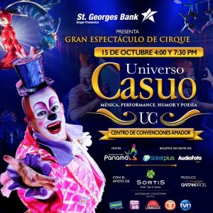 Grand Espectáculo de Cirque Universo Casuo Llaga a Panamá en Octubre