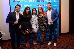 Robin Durán, Ana Alejandra Carrizo, Lourdes Aldrete, Marisabel Capriles y Ramiro Hernández