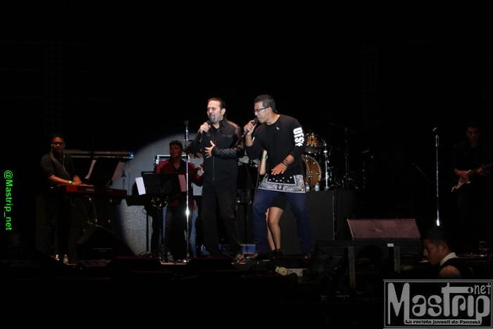 Los gaitanes - concierto de Fonseca en Panamá