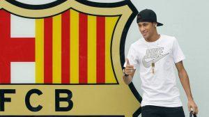 llegada de neymar al barcelona