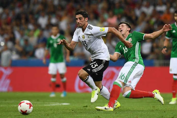 Alemania liquidó por 4-1 a México