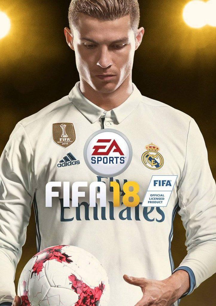 Cristiano Ronaldo será la portada del FIFA 2018.