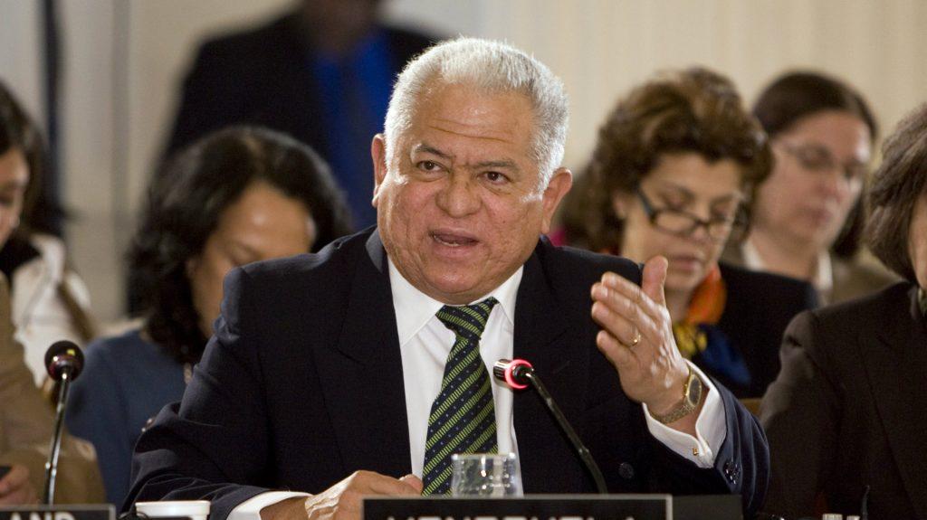 Embajador venezolano ante la ONU en Ginebra, Jorge Valero