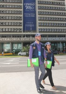 campaña masiva de reclutamiento del personal requerido para los Censos Nacionales